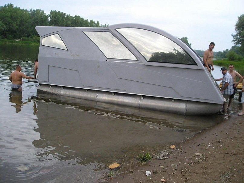 понтон для лодки в самаре