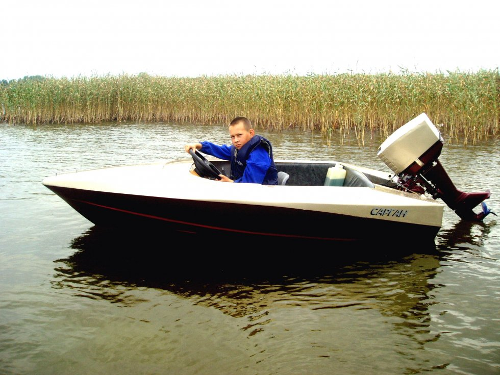 лодка mini boat