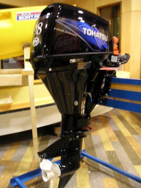 мотор tohatsu 9.8 технические характеристики