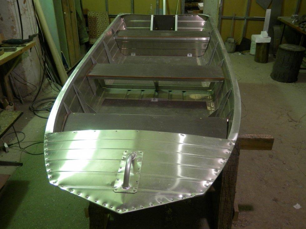 Изготовление лодки киров