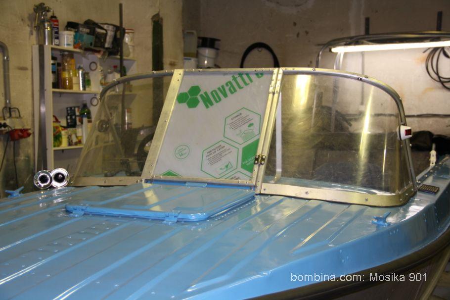 лобовое стекло на лодку казанка 5м4