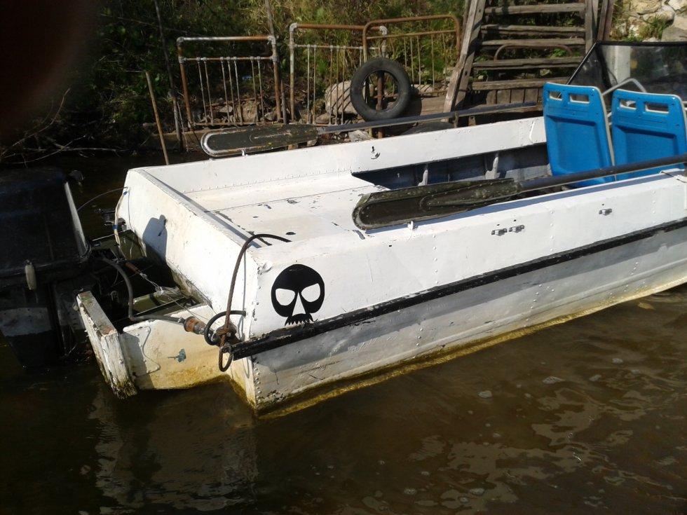 купить транец для лодки казанка