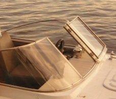 как согнуть оргстекло на лодку