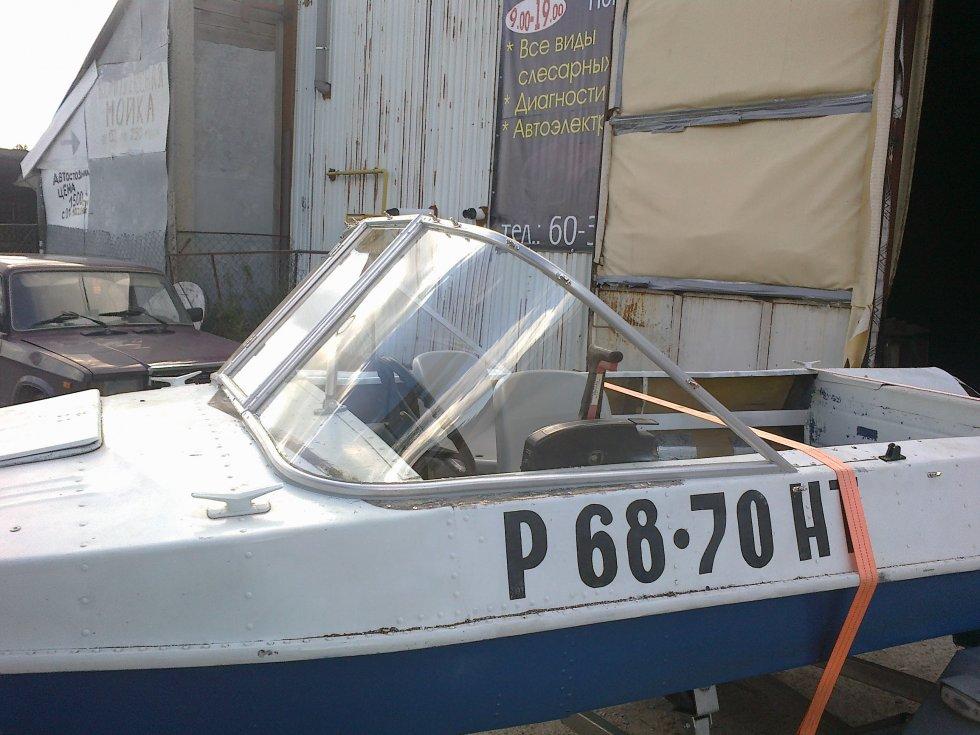 стекло на лодку обь м