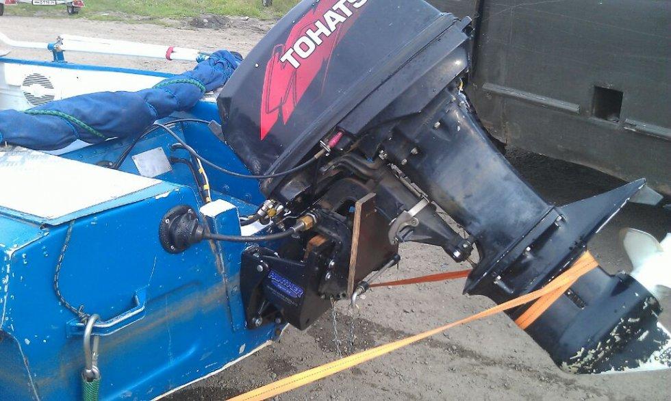 ремонт лодочного транца