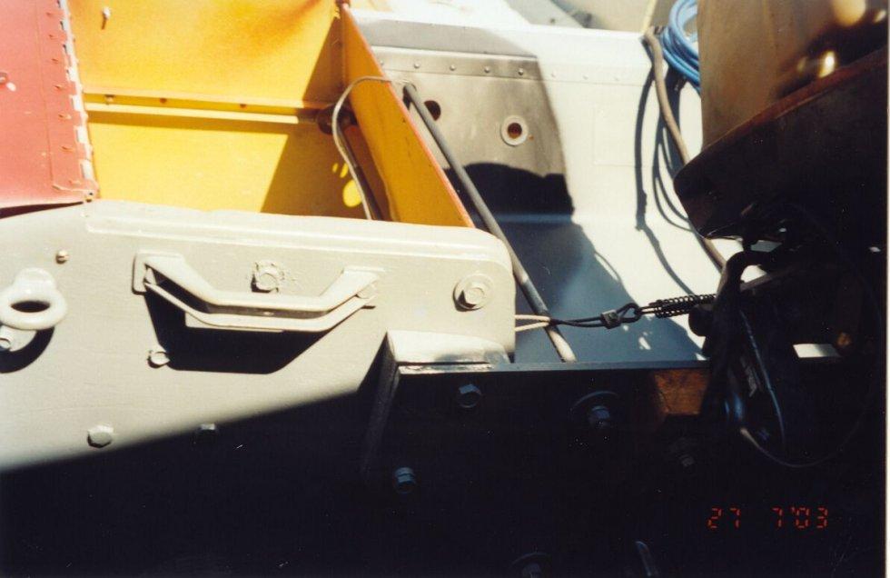 усиление транца для лодки обь м