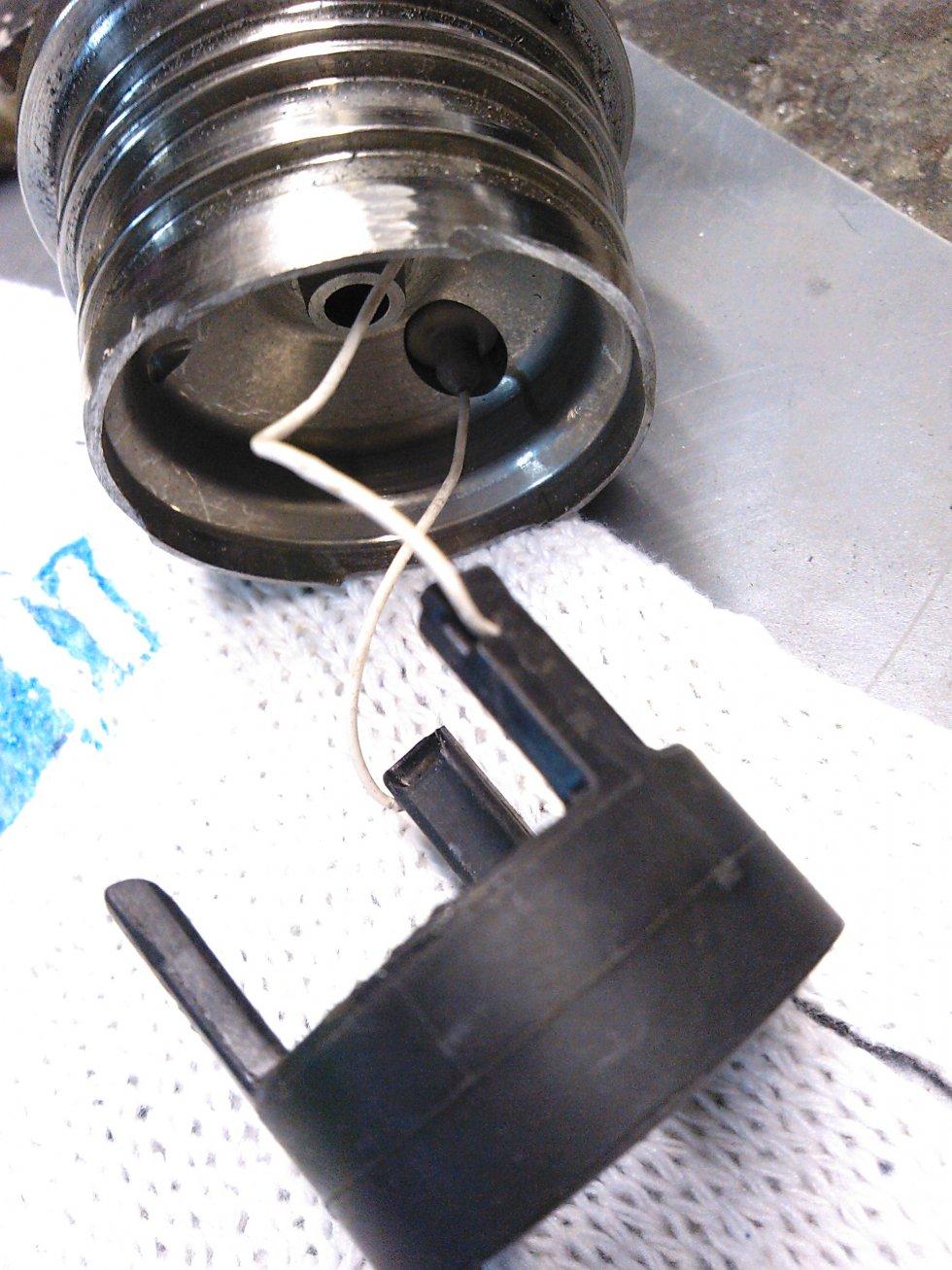 схема соединения тахометра ультрафлекс на лодку