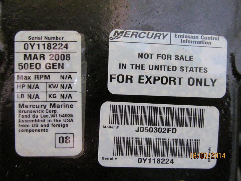 Лодочный мотор Меркурий 99