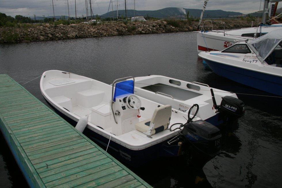 двигатель на лодку бриз