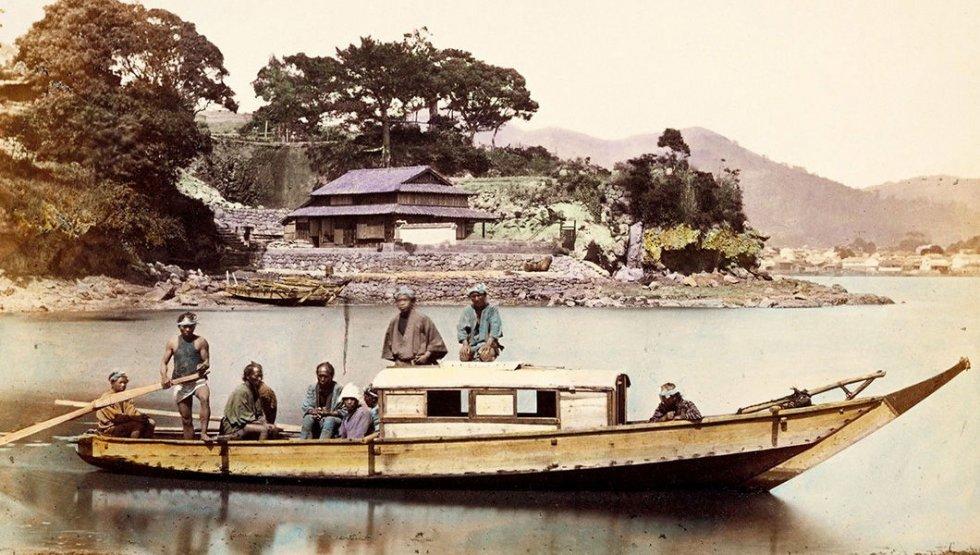 старые японские лодки