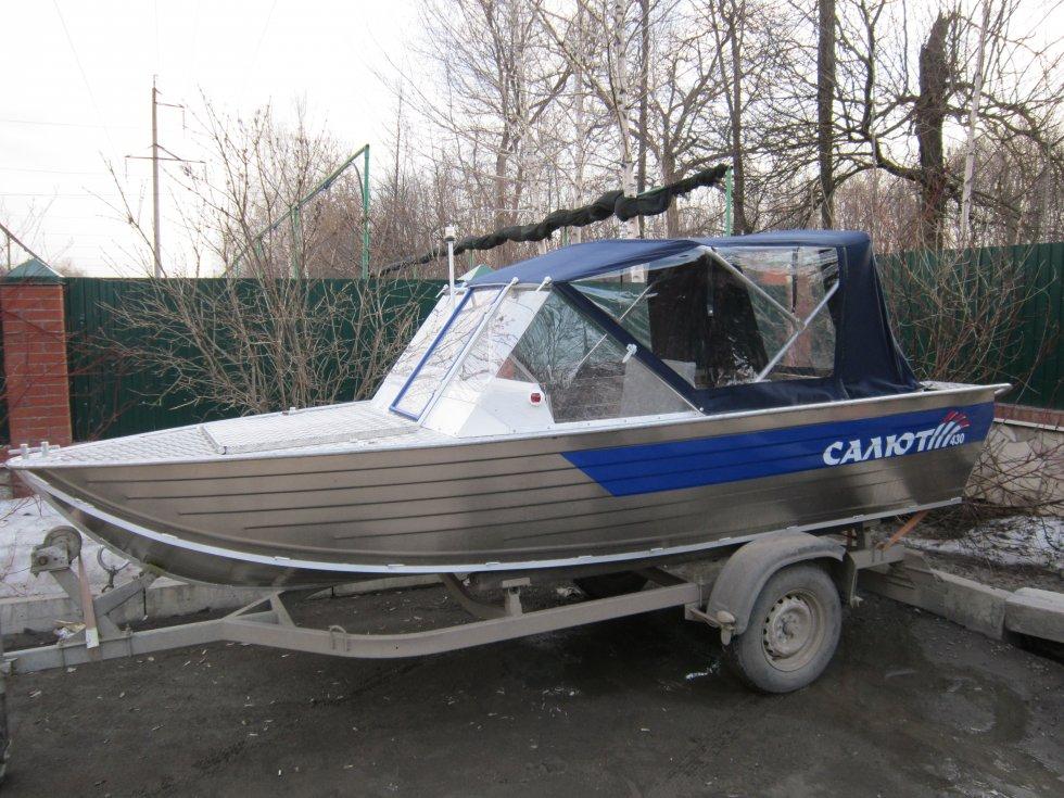 моторные лодки салют 430 про