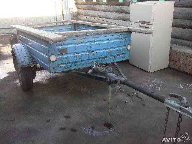 легковой прицеп переделать под перевозку лодки