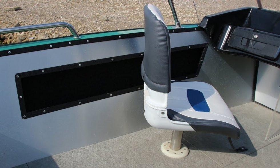 обшивка лодки алюминием