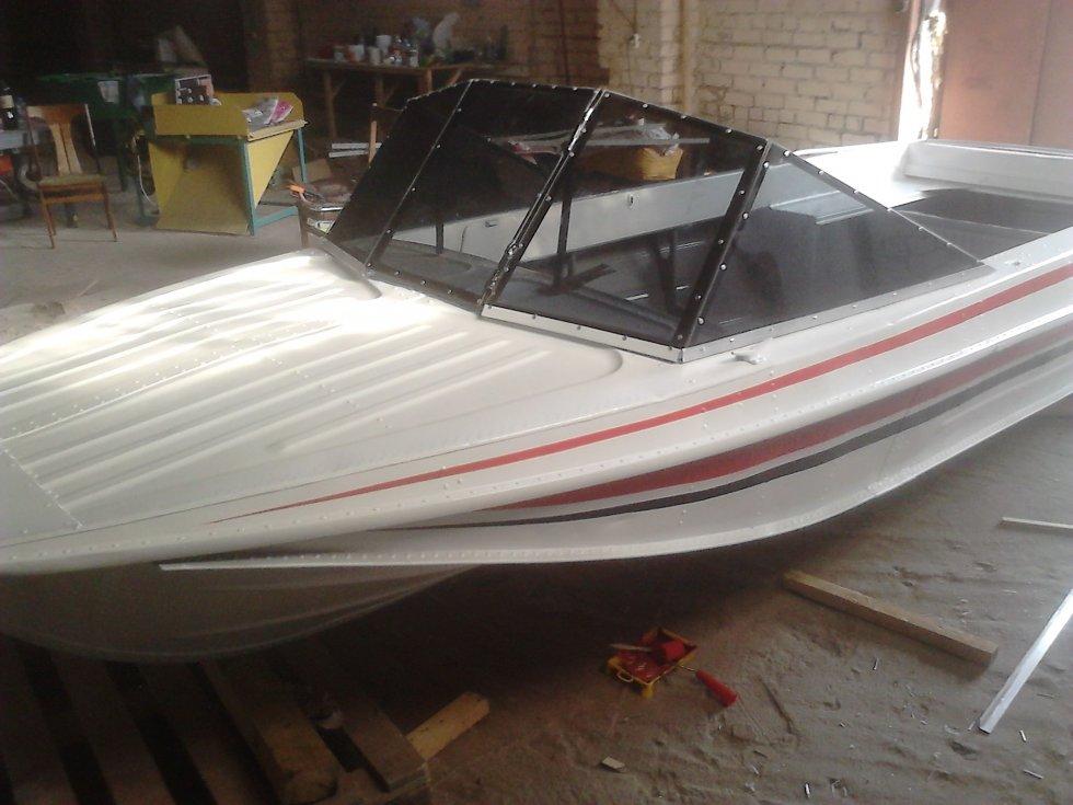 Ремонт и покраска лодки казанка своими руками 54