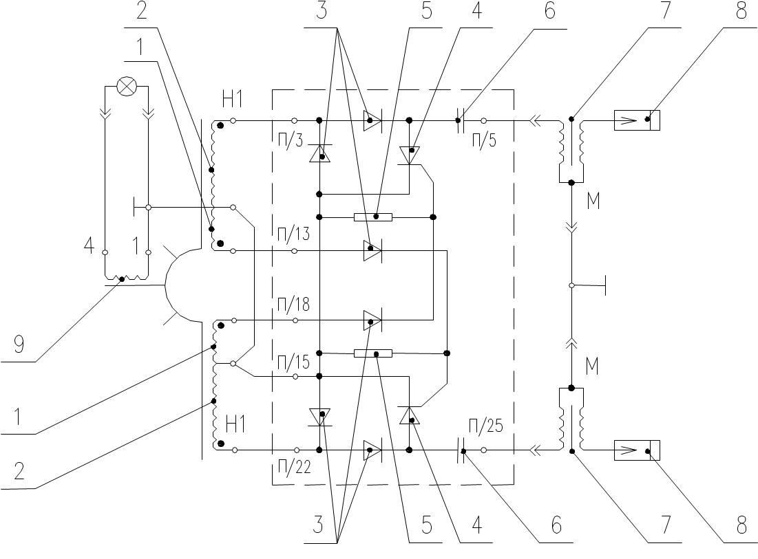 схема катушки зажигания четырех контактной