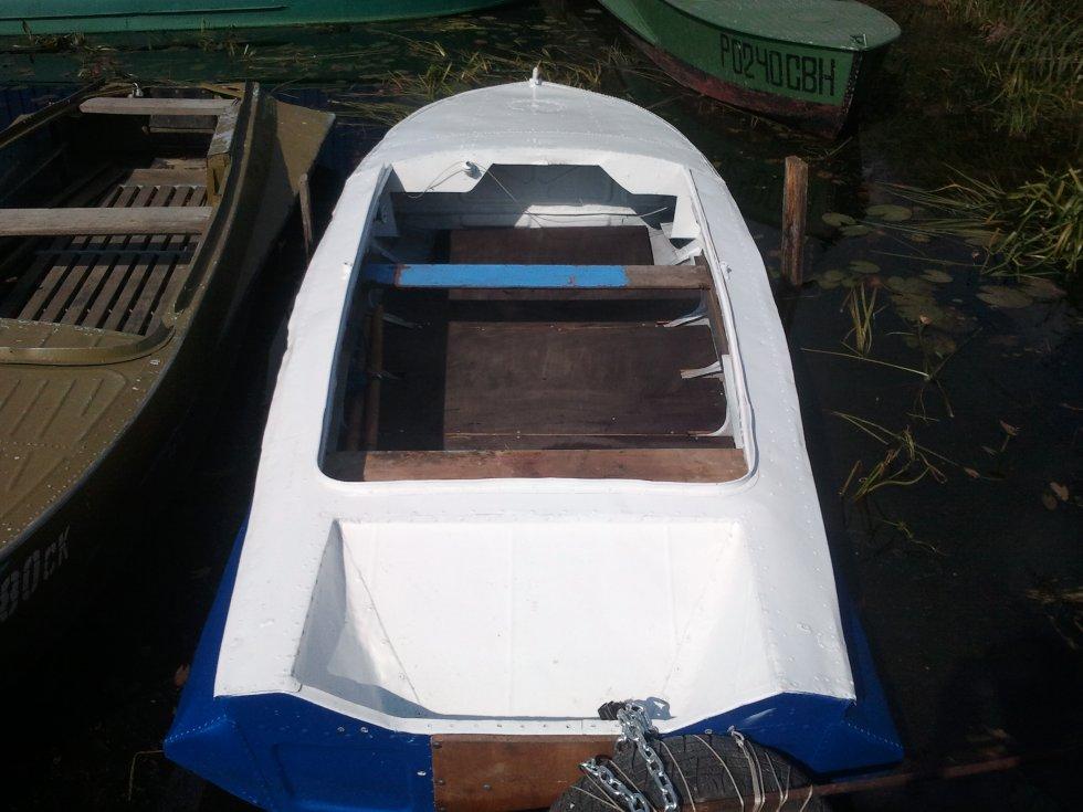 как усилить транец на лодке обь 1