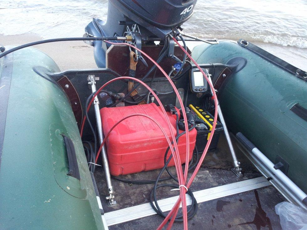 лодки из пвх с навесным трансом
