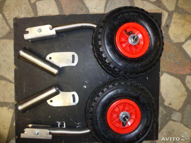защелки на транцевых колесах