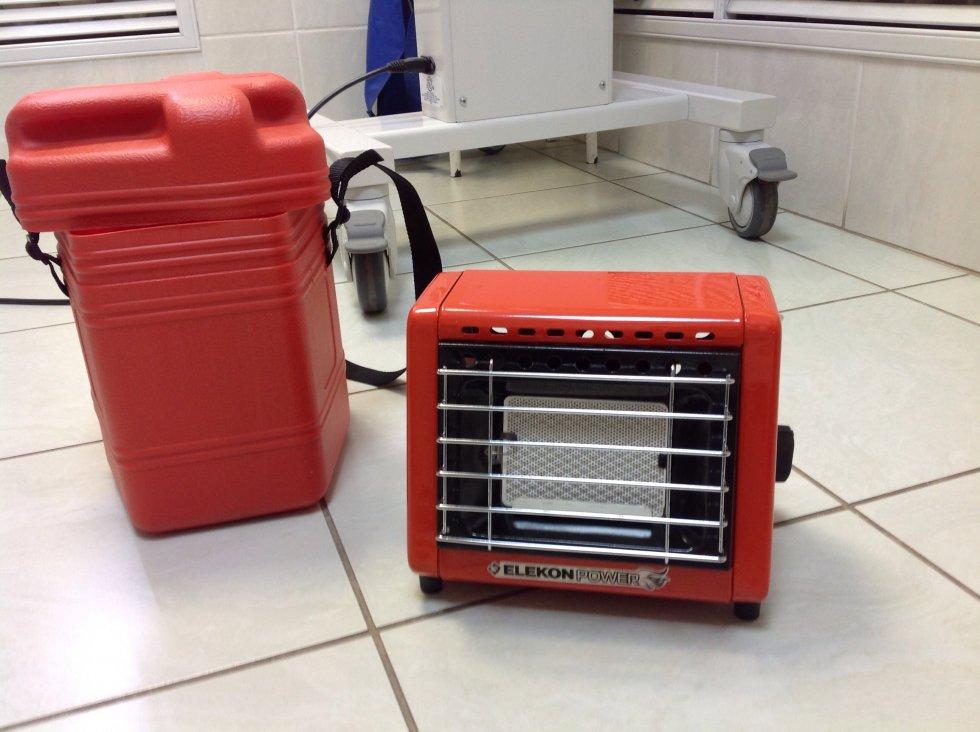 Обогреватель elekon power pg3b - портативный инфракрасный радиатор