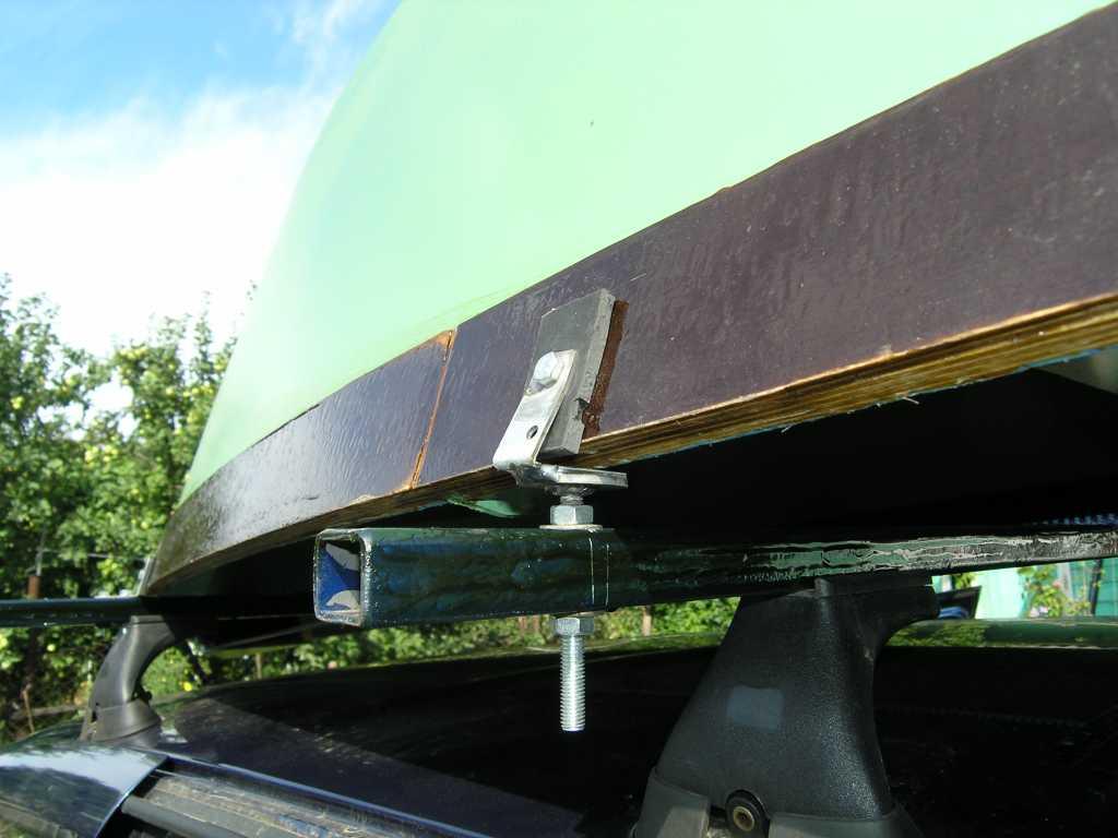 Багажник для перевозки лодки своими руками 11