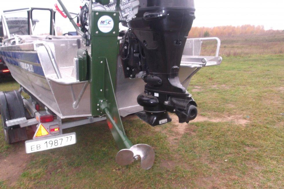 водометный лодочный мотор нептун 23