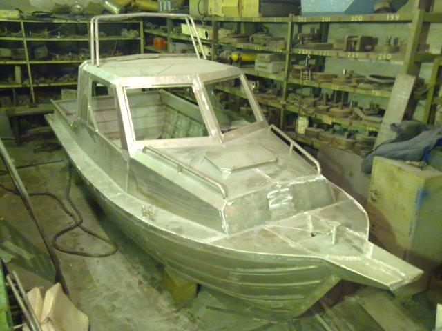 фото самодельных лодок из металла