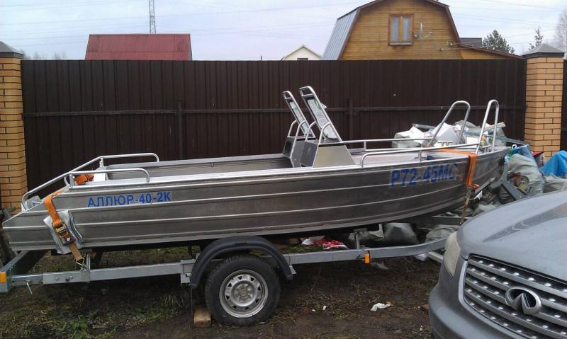 лодка аллюр характеристики