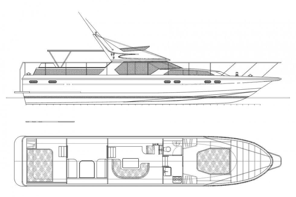 лодки катера и яхты чертежи