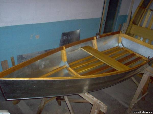 Как сделать фанерную лодку своими руками видео