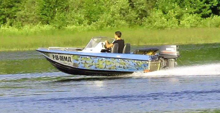 лодка ока-4 с мотором видео