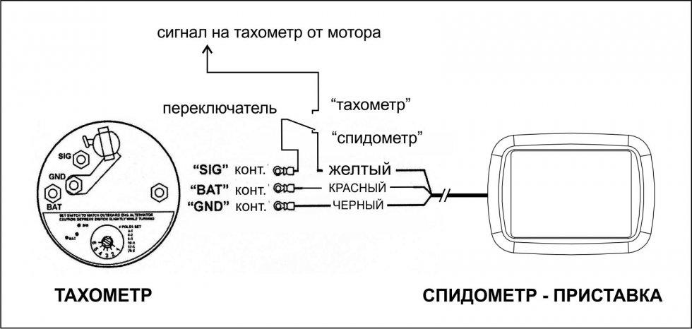 как подключить фару к лодочному мотору