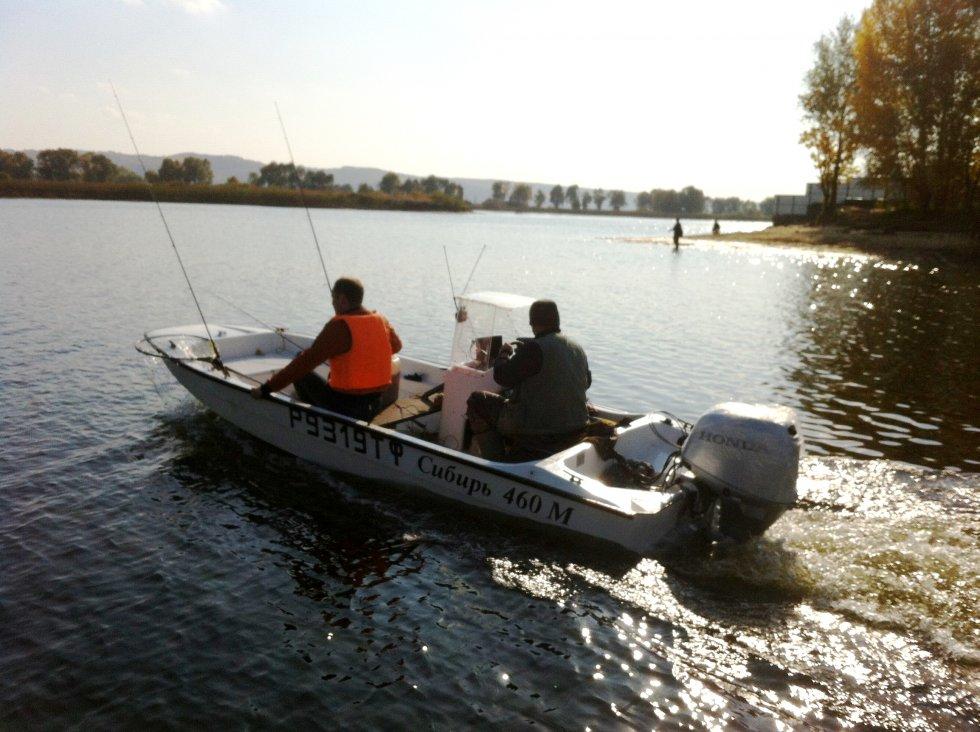 Моторные лодки сибирь 460 цена