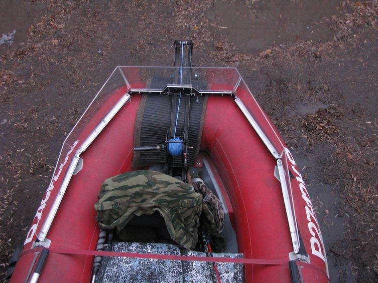 как гнуть стекло на лодку