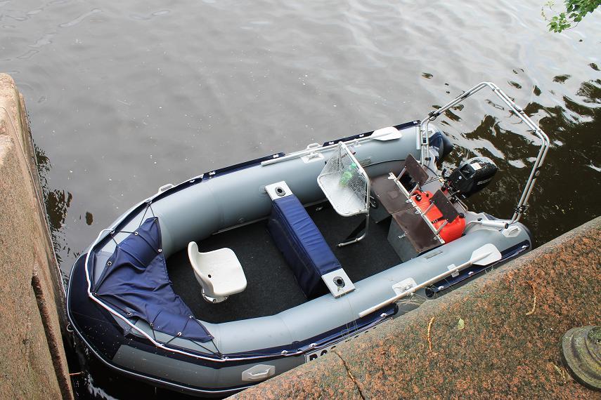 лодки пвх тюнинг руками