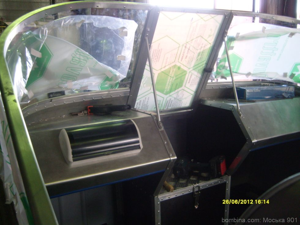 на лодку казанка 2м стекло с калиткой