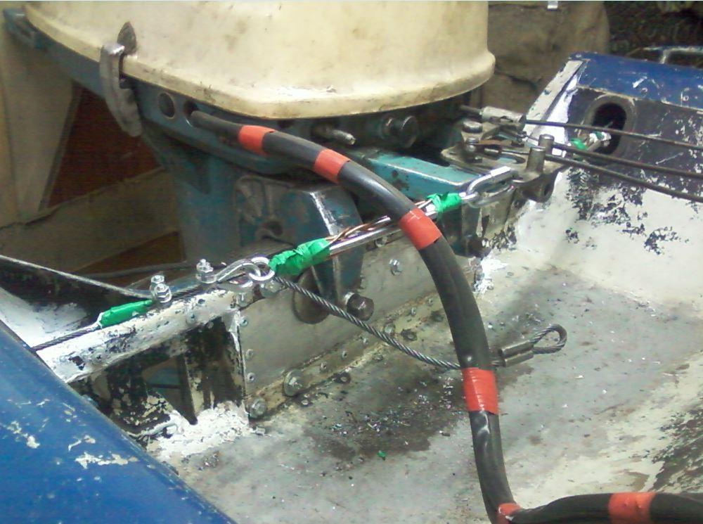 Троса для лодочных моторов своими руками 88
