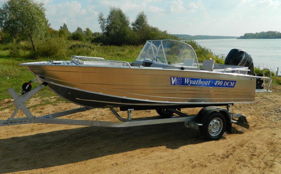 алюминиевые лодки вятбот 390м сосновка