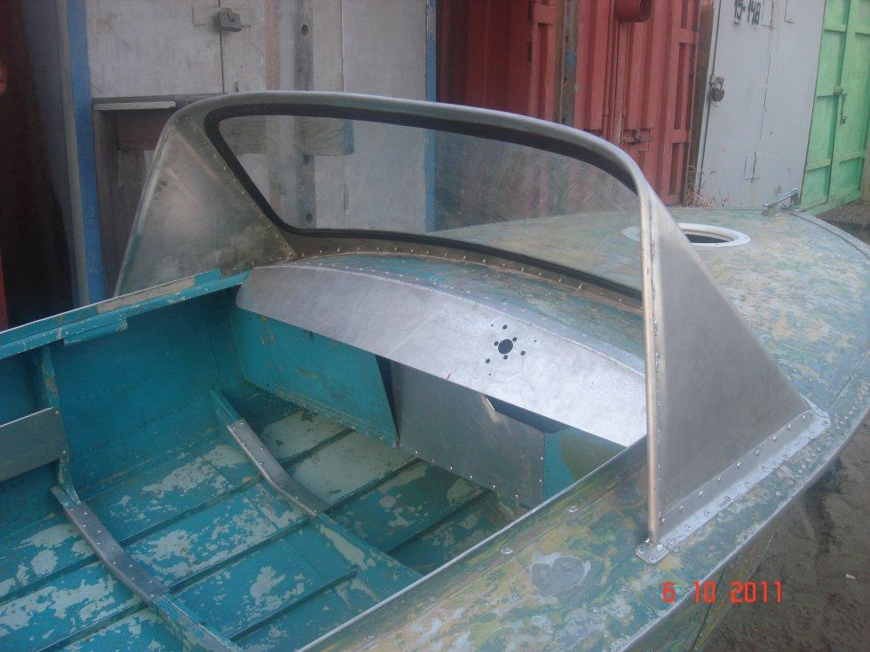 шаблон стекла на лодку обь