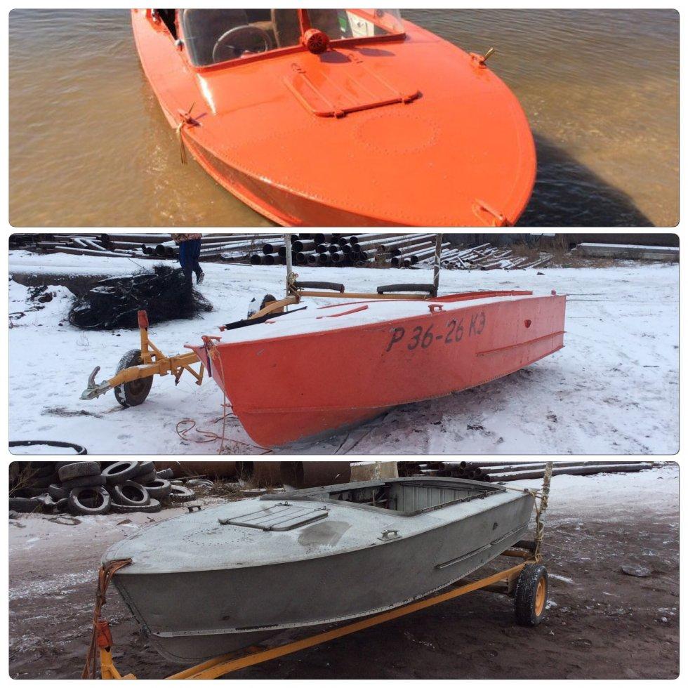В какой цвет покрасить лодку крым