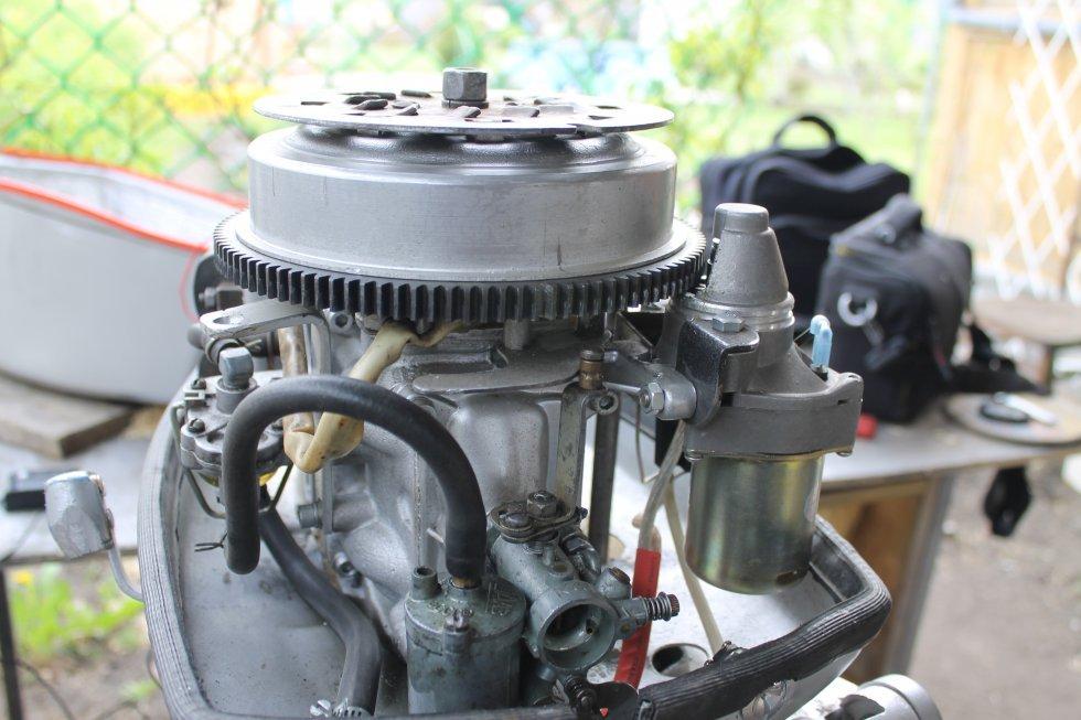 Как сделать электрозапуск лодочного мотора