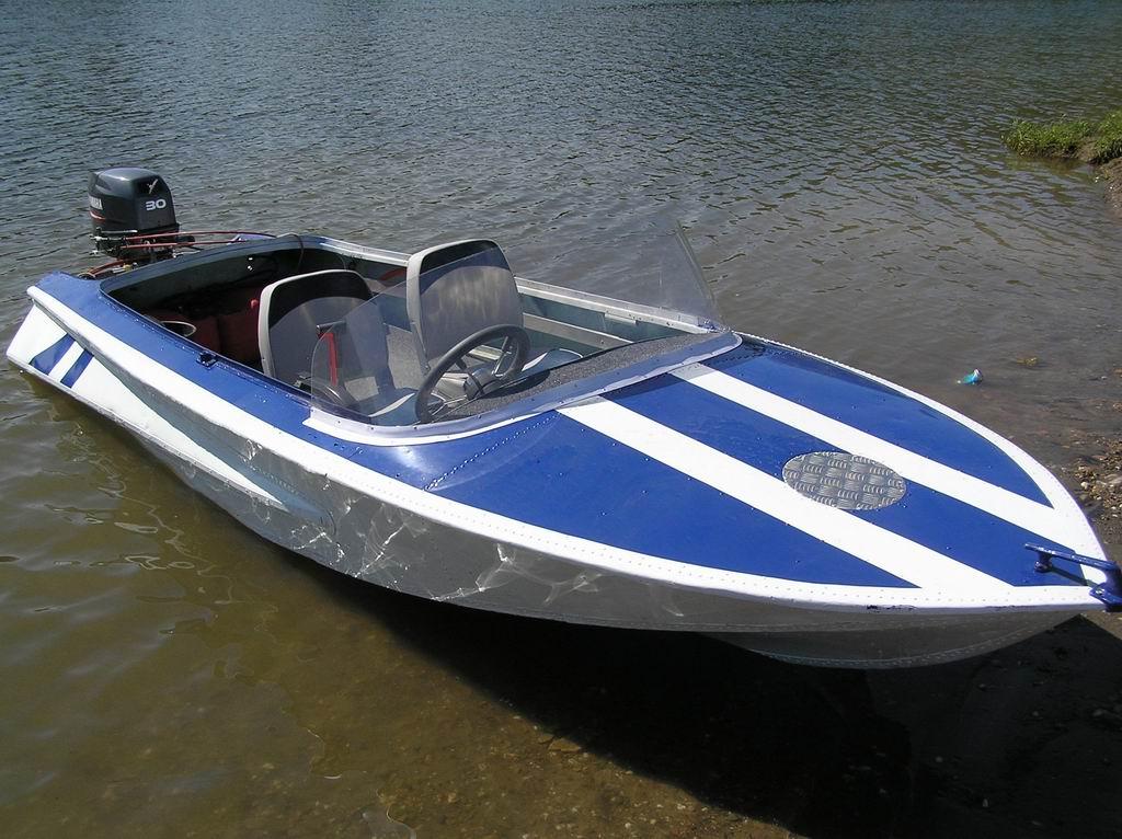 купить металлическую лодку обь