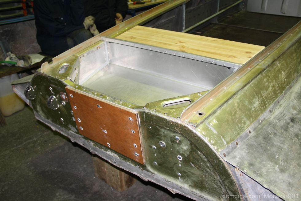 ремонт лодки казанка форум