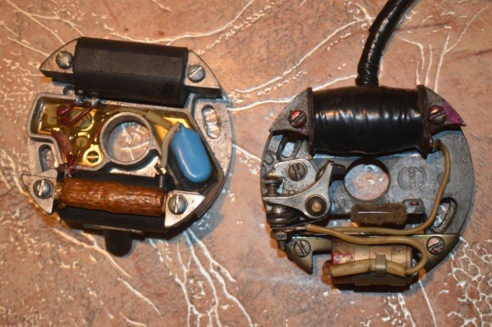 электронное зажигание лодочного мотора салют