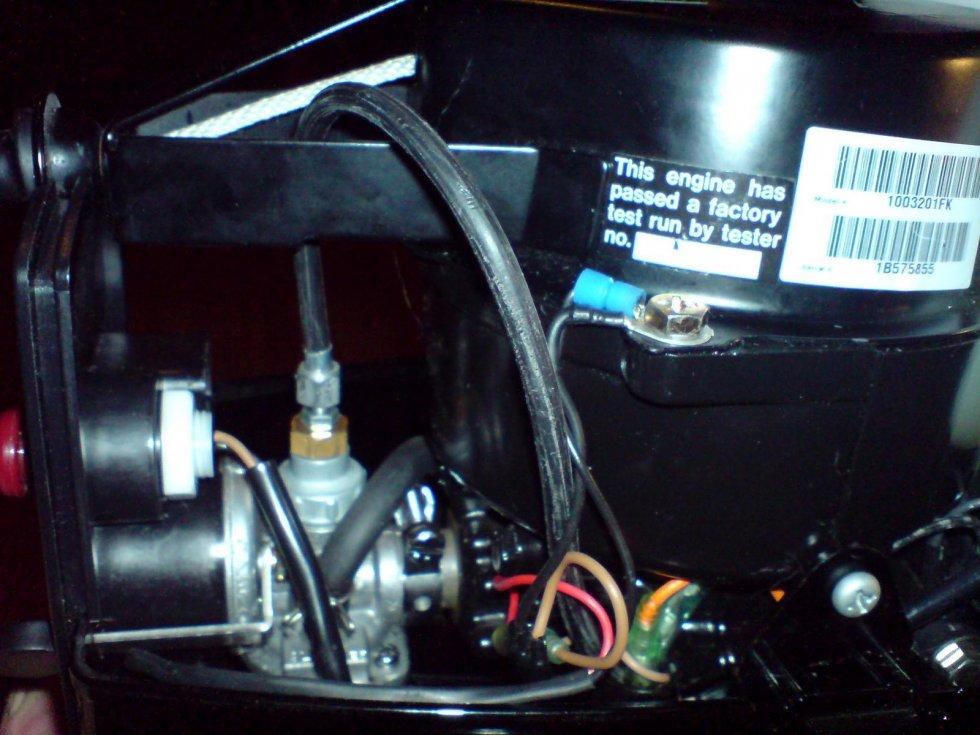 как сделать ручку газа на лодочный мотор меркурий