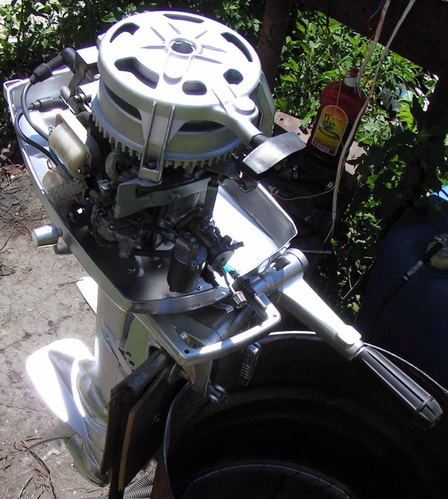 Лодочный мотор ветерок 8 переделка