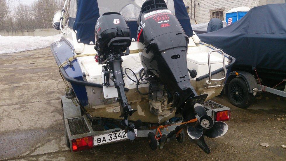 управление дополнительным мотором для троллинга