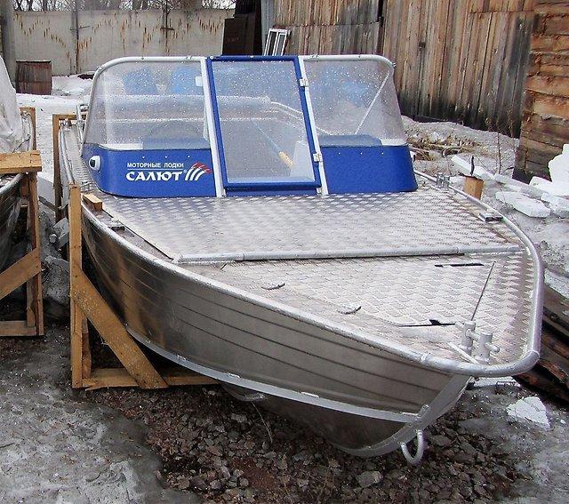 купить металлическую лодку бу в красноярске