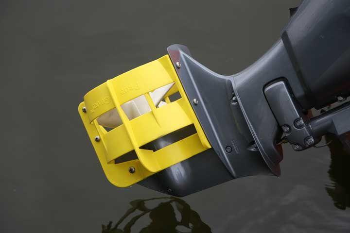 как сделать защиту на лодочный мотор видео