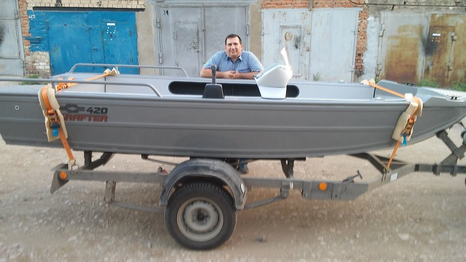 моторные лодки krafter