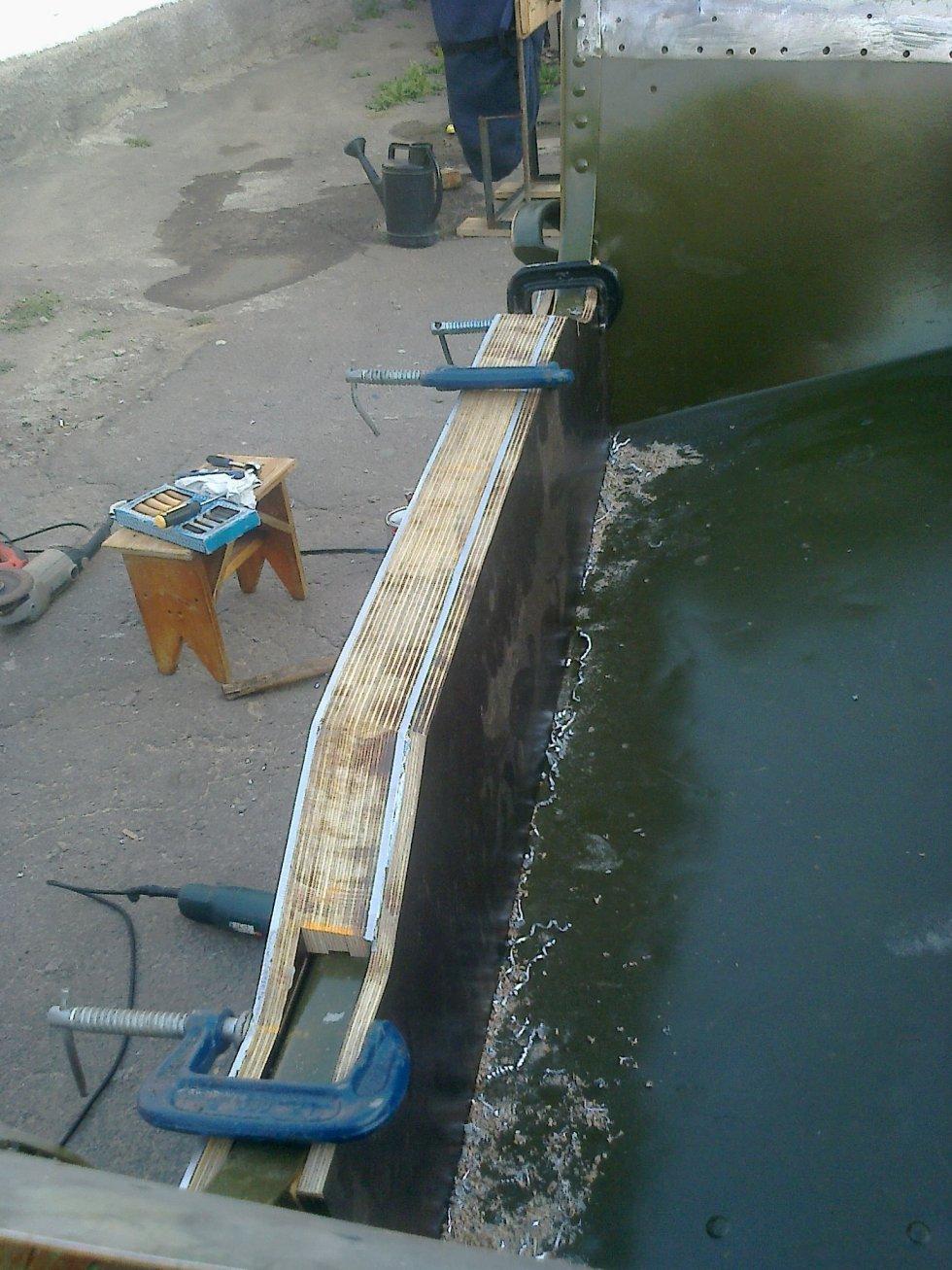 Гидролыжа на лодку пвх своими руками